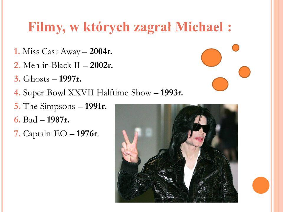 Filmy, w których zagrał Michael : 8.Captain EO Promo Pre-show – 1986r.