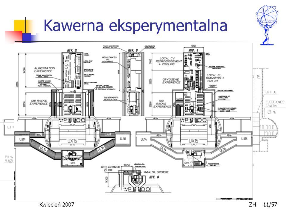 Kwiecień 2007 ZH 11/57 Kawerna eksperymentalna