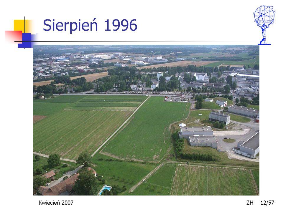 Kwiecień 2007 ZH 12/57 Sierpień 1996