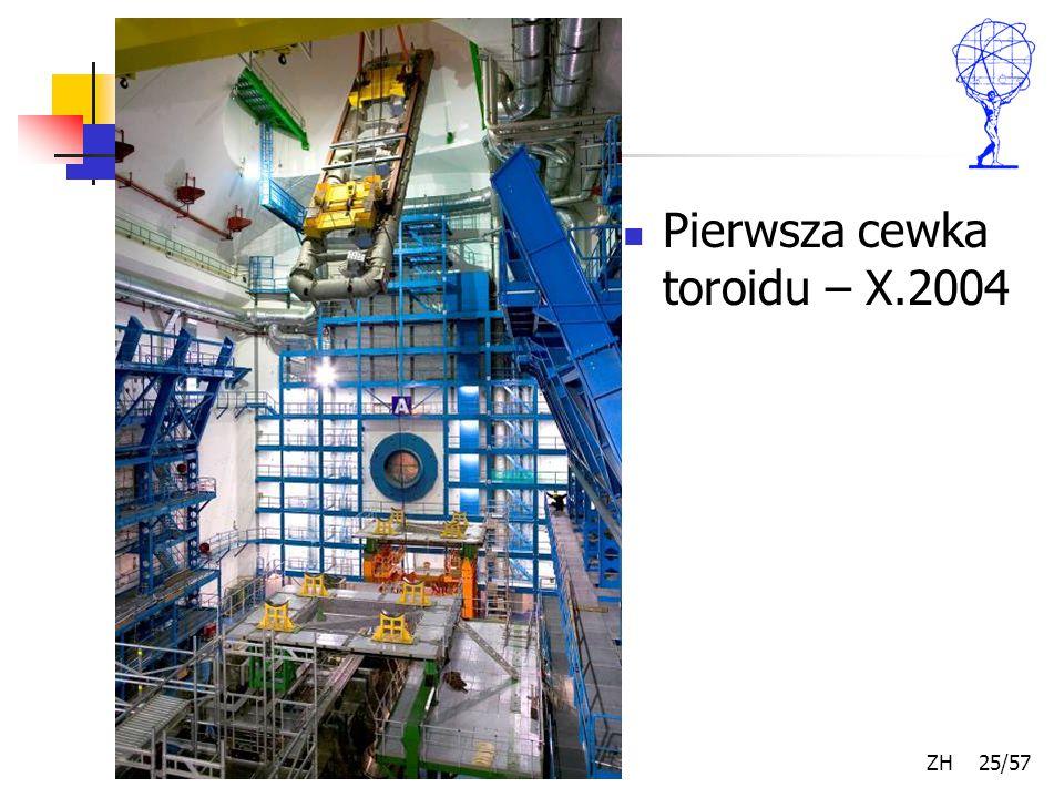 Kwiecień 2007 ZH 25/57 Pierwsza cewka toroidu – X.2004