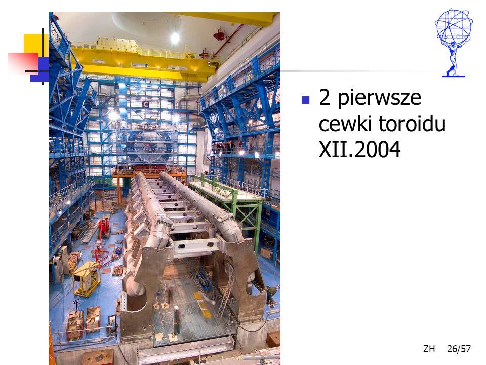 Kwiecień 2007 ZH 26/57 2 pierwsze cewki toroidu XII.2004