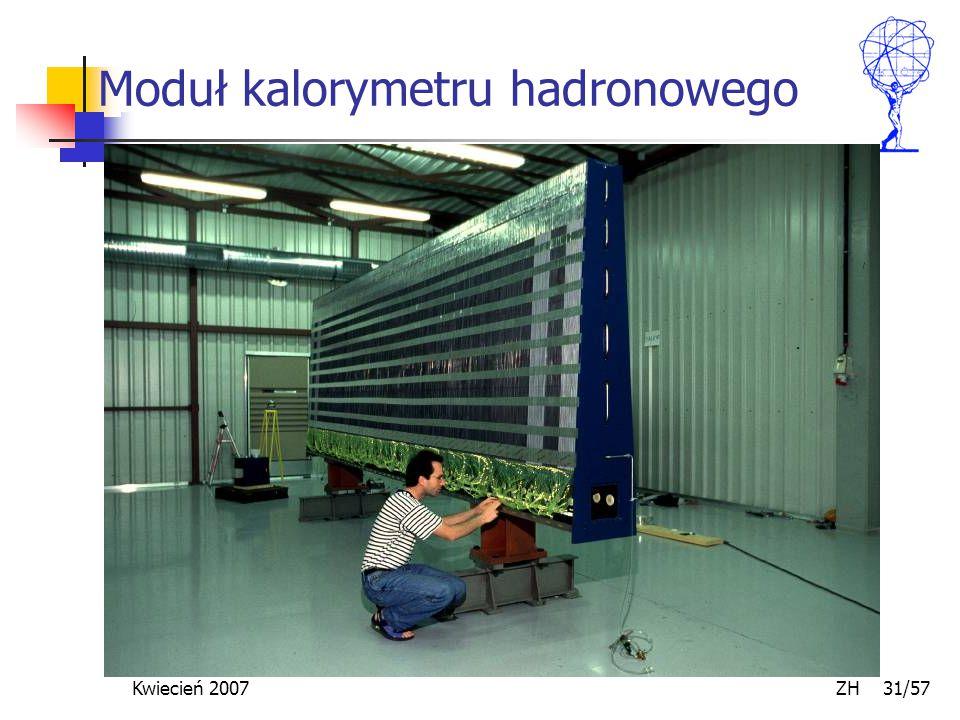 Kwiecień 2007 ZH 31/57 Moduł kalorymetru hadronowego
