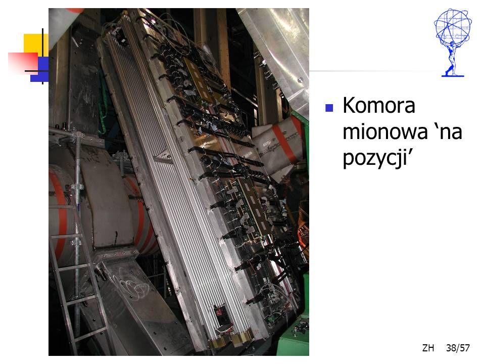 Kwiecień 2007 ZH 38/57 Komora mionowa 'na pozycji'