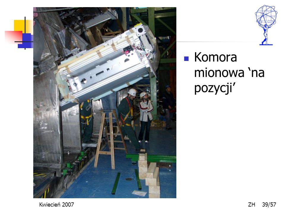 Kwiecień 2007 ZH 39/57 Komora mionowa 'na pozycji'