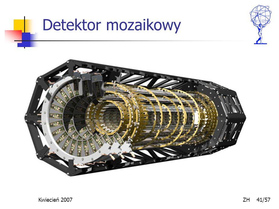 Kwiecień 2007 ZH 41/57 Detektor mozaikowy