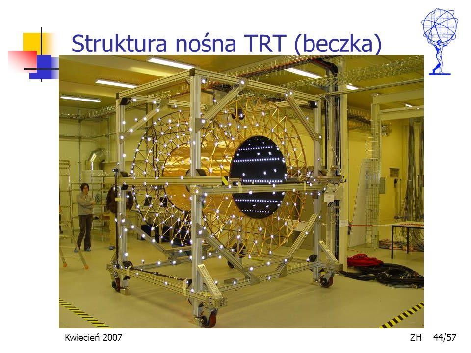 Kwiecień 2007 ZH 44/57 Struktura nośna TRT (beczka)