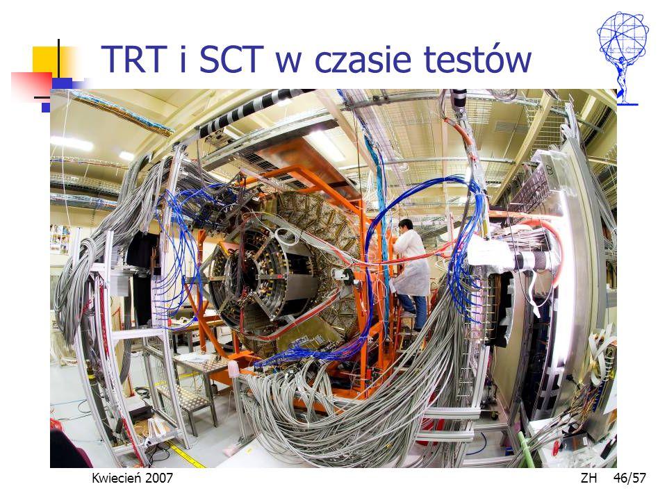 Kwiecień 2007 ZH 46/57 TRT i SCT w czasie testów
