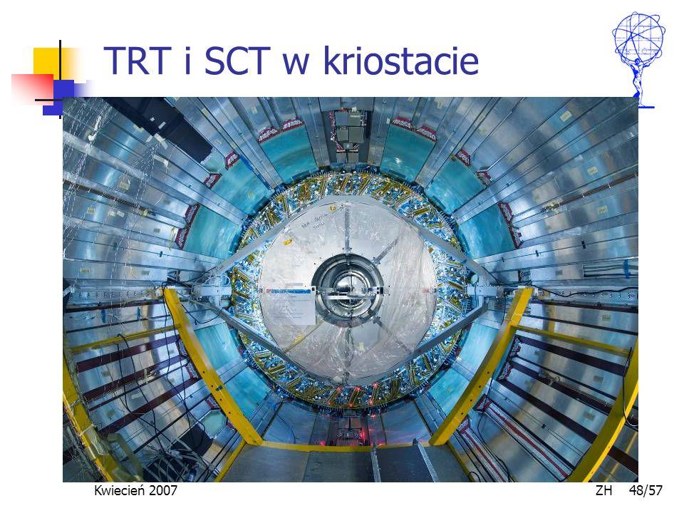 Kwiecień 2007 ZH 48/57 TRT i SCT w kriostacie