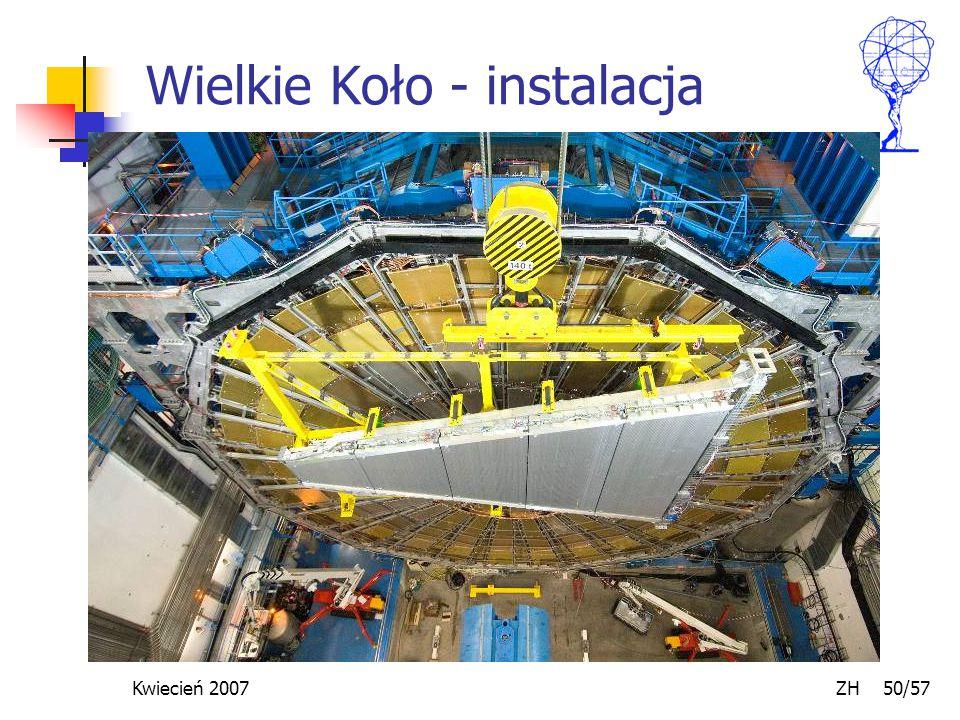 Kwiecień 2007 ZH 50/57 Wielkie Koło - instalacja