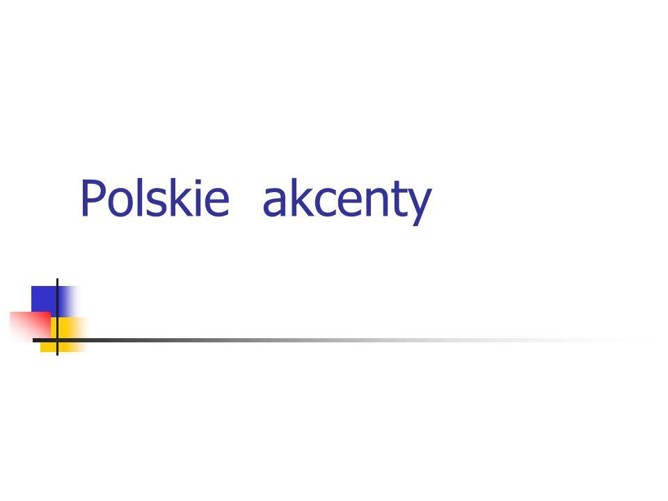 Polskie akcenty