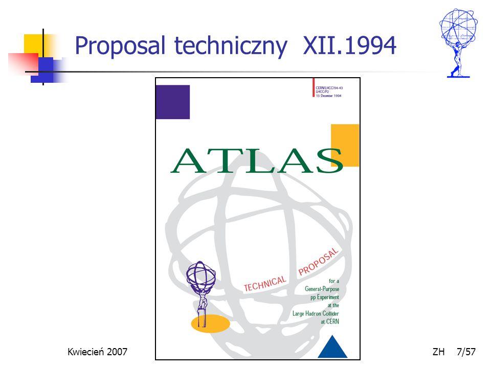 Kwiecień 2007 ZH 7/57 Proposal techniczny XII.1994
