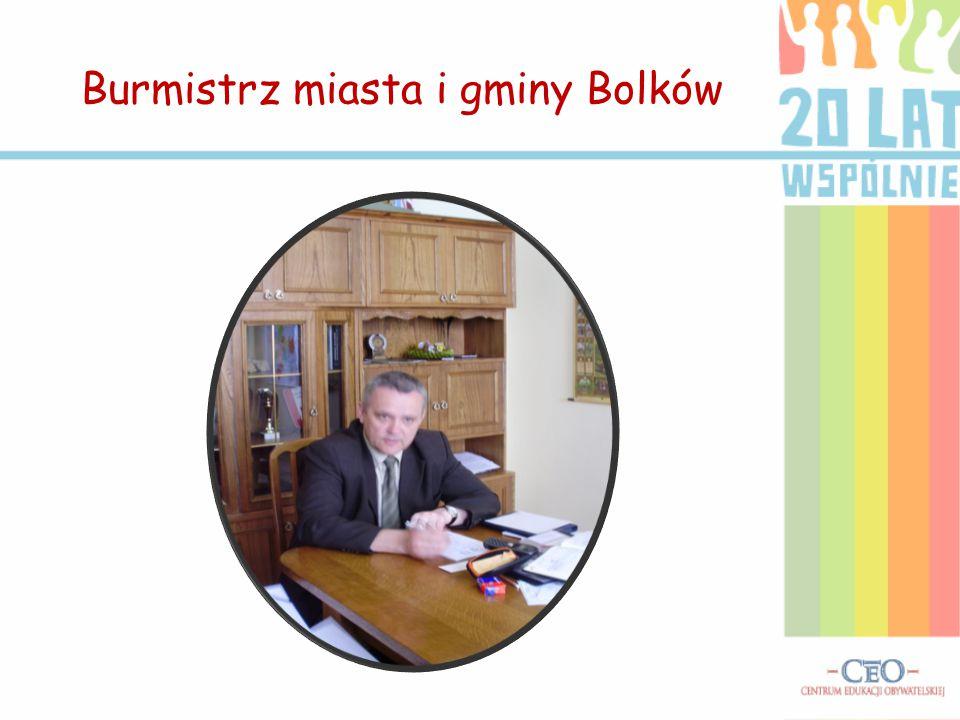 Wywiad z burmistrzem Bolkowa  Jest pan obywatelem Bolkowa, służy pan temu miastu.