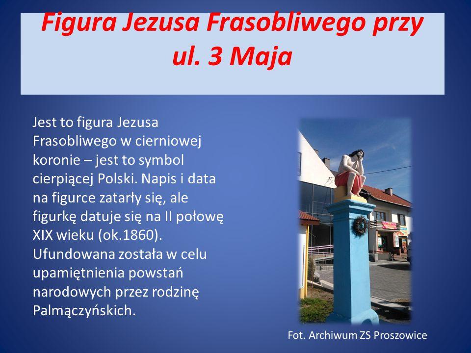 Biały Krzyż Przy skrzyżowaniu ul.Wiślanej, Wolności i ul.