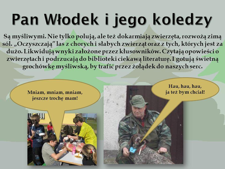 To koledzy i koleżanki pana Cezarego. Pan Jurek, Norbert, Krzysiek, Sławek, Katarzyna….