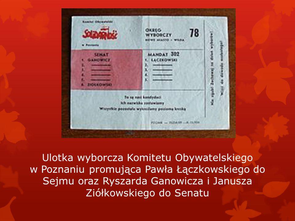 Profesor Andrzej Stelmachowski po zwycięskich wyborach został marszałkiem Senatu