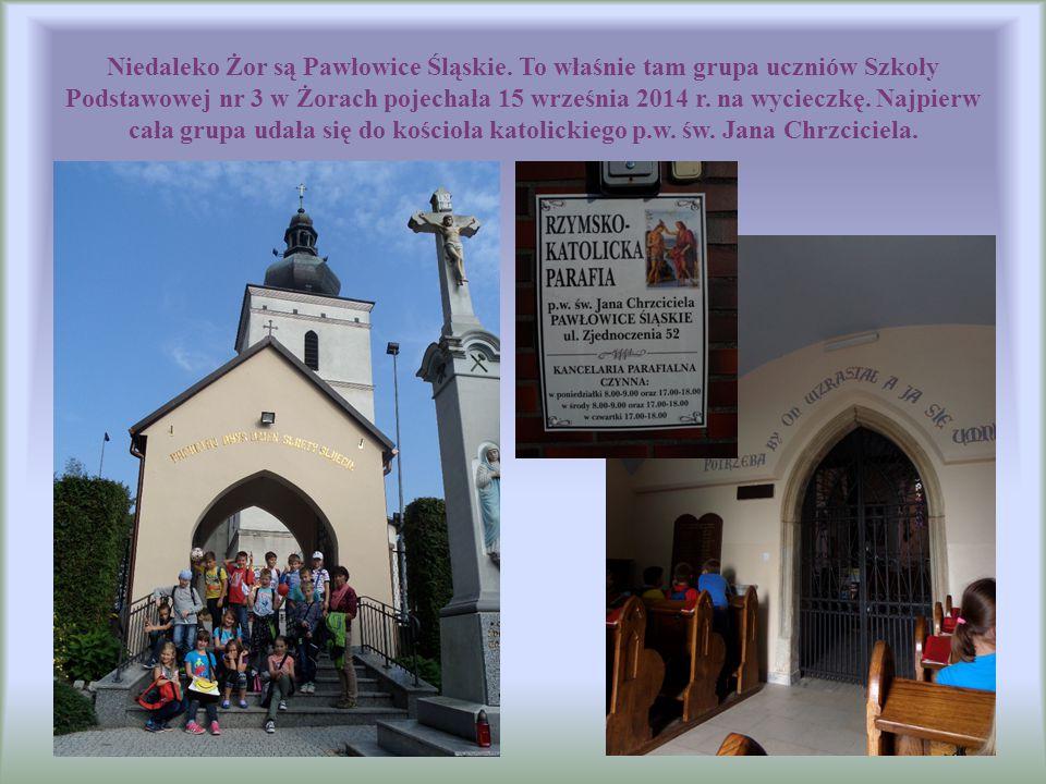 Niedaleko Żor są Pawłowice Śląskie. To właśnie tam grupa uczniów Szkoły Podstawowej nr 3 w Żorach pojechała 15 września 2014 r. na wycieczkę. Najpierw