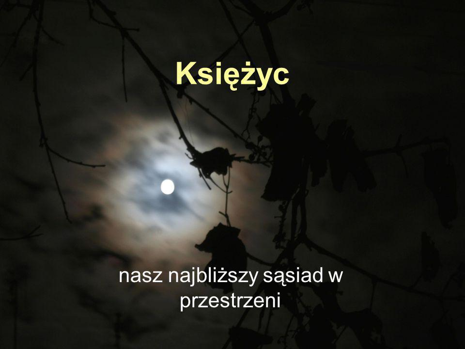 Księżyc nasz najbliższy sąsiad w przestrzeni