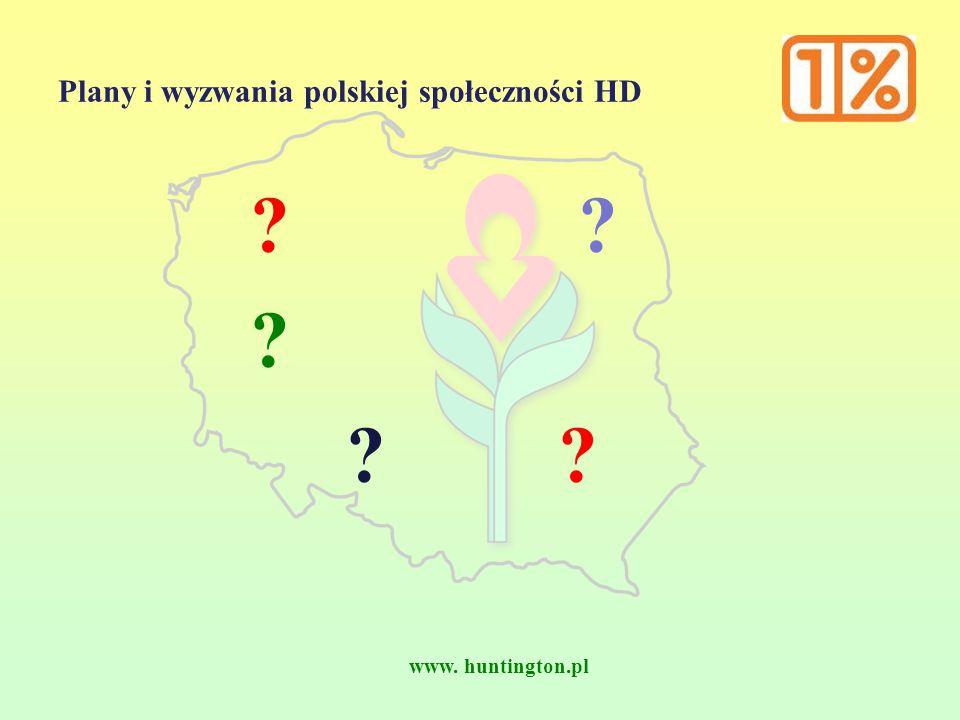www. huntington.pl Plany i wyzwania polskiej społeczności HD ?