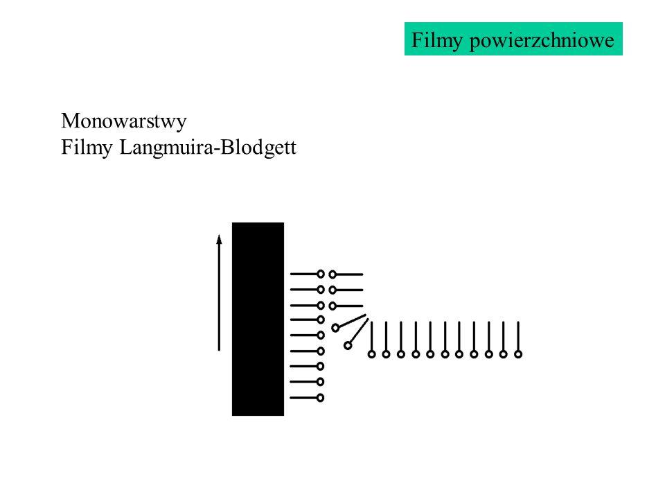Monowarstwy Filmy Langmuira-Blodgett