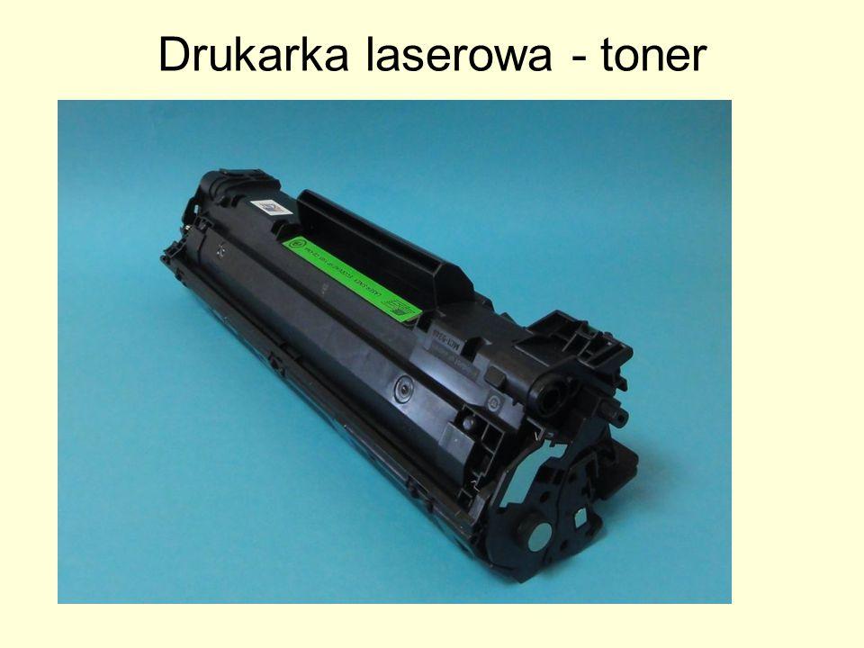 Drukarka laserowa - toner