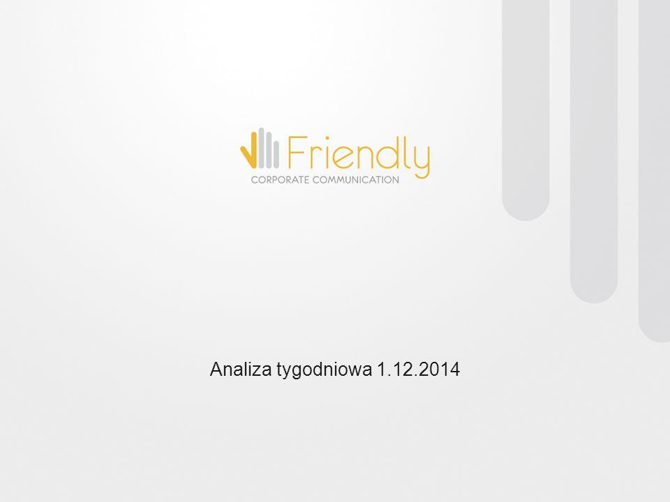 Analiza tygodniowa 1.12.2014