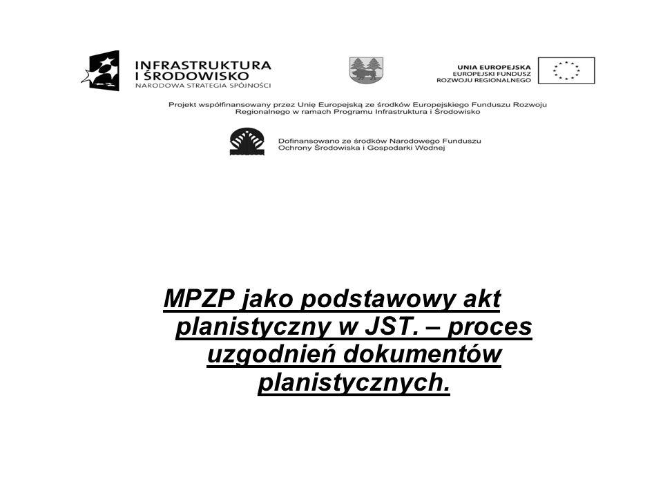Rada gminy podejmuje uchwałę o przystąpieniu do sporządzenia MPZP.