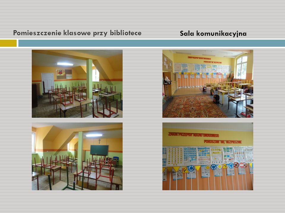 Pomieszczenie klasowe przy bibliotece Sala komunikacyjna