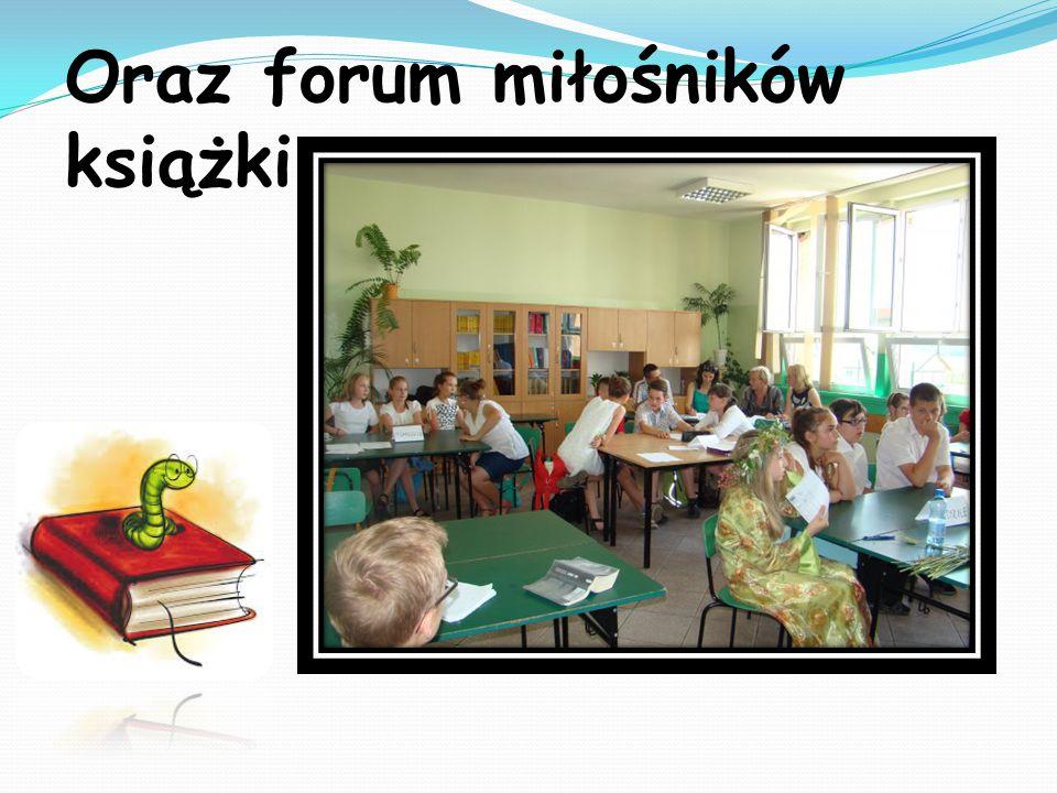 Oraz forum miłośników książki