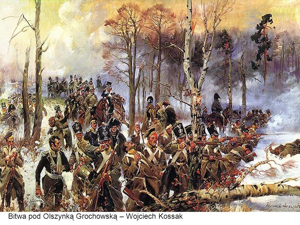 Bitwa pod Olszynką Grochowską – Wojciech Kossak