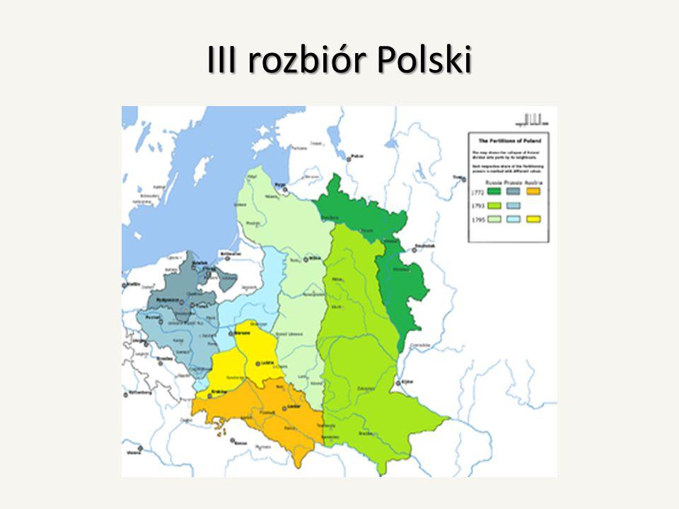 III rozbiór Polski