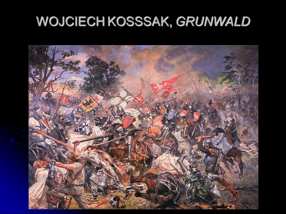 WOJCIECH KOSSSAK, GRUNWALD