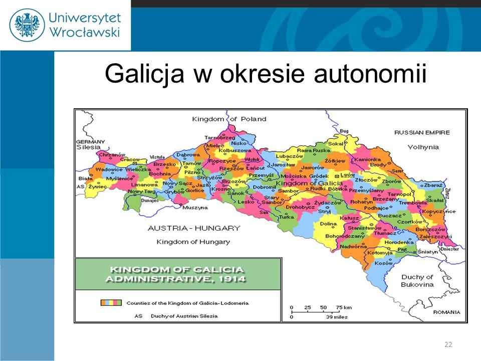 Galicja w okresie autonomii 22