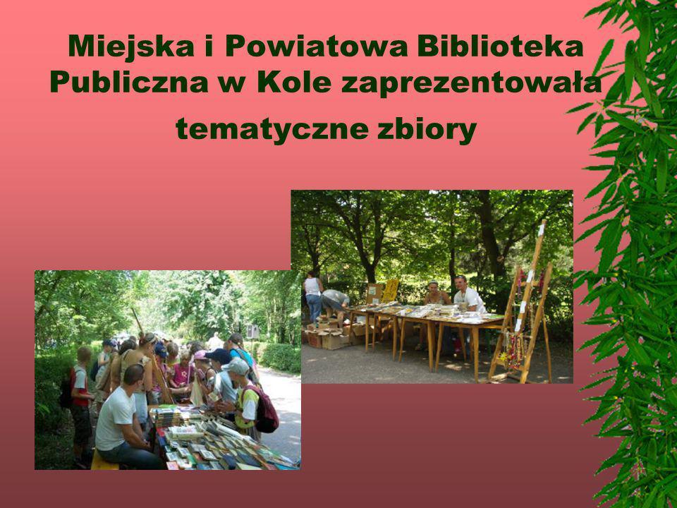 Miejska i Powiatowa Biblioteka Publiczna w Kole zaprezentowała tematyczne zbiory