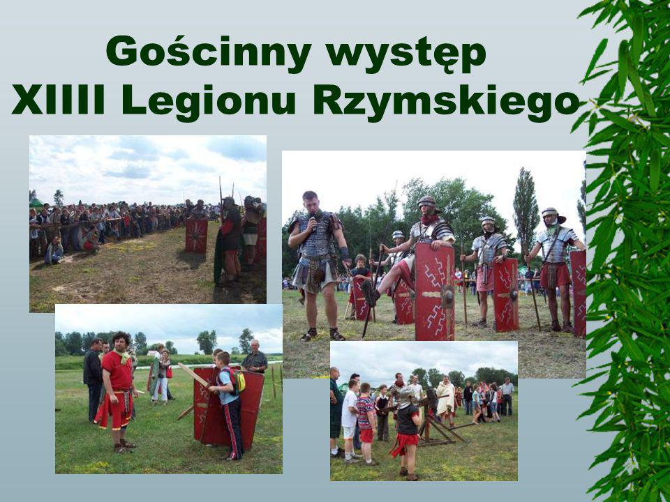 Gościnny występ XIIII Legionu Rzymskiego