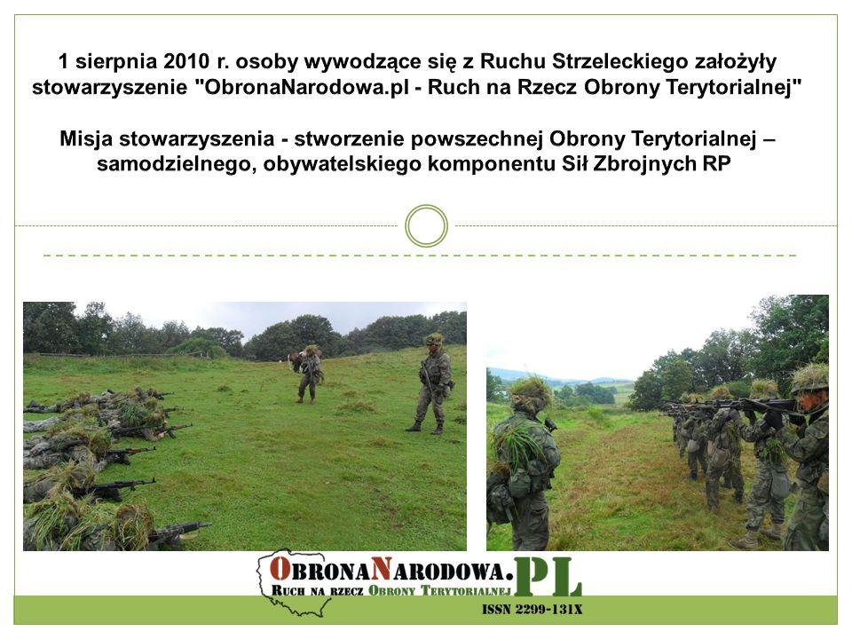WSzW WKU Wojewoda Starosta współpraca NGO Kompania OT Pluton OT Certyfikacja Krajowy System Armii Krajowej