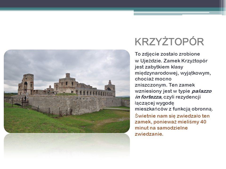 Ruiny zamku w Ch ę cinach To zdj ę cie przedstawia ruiny zamku w Ch ę cinach.