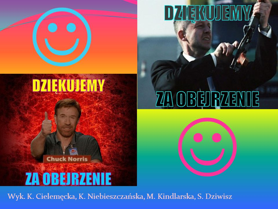 Wyk. K. Cielemęcka, K. Niebieszczańska, M. Kindlarska, S. Dziwisz