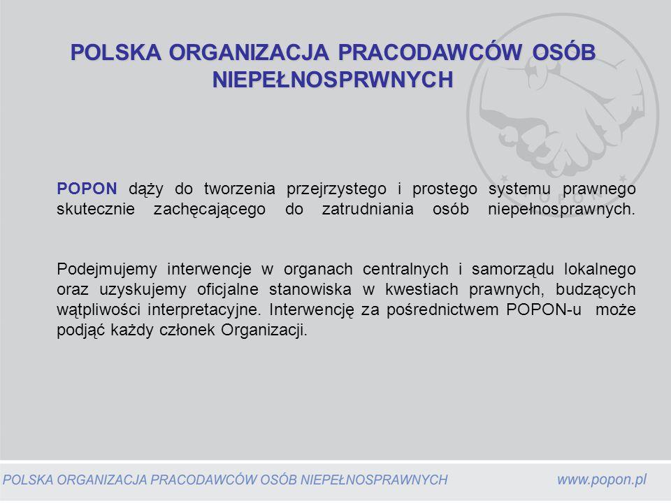 Oddziały udzielają: porad prawnych fachowej pomocy w pozyskiwaniu dotacji z funduszy strukturalnych UE konsultacji przy tworzeniu Indywidualnych Programów Rehabilitacji organizują szkolenia dla pracodawców oraz spotkania z władzami lokalnymi i organizacjami pozarządowych.