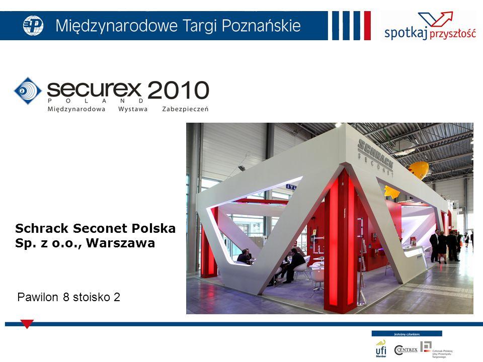 Schrack Seconet Polska Sp. z o.o., Warszawa Pawilon 8 stoisko 2