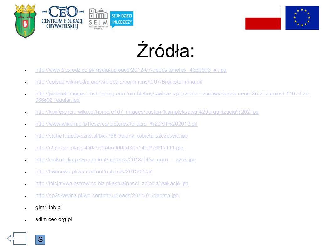 Źródła: ● http://www.sosrodzice.pl/media/uploads/2012/07/depositphotos_4869998_xl.jpg http://www.sosrodzice.pl/media/uploads/2012/07/depositphotos_486