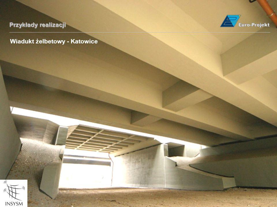 Przykłady realizacji Wiadukt żelbetowy - Katowice