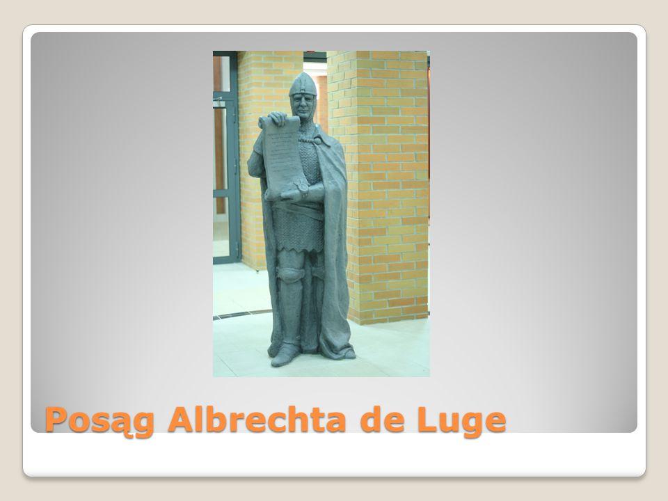 Posąg Albrechta de Luge