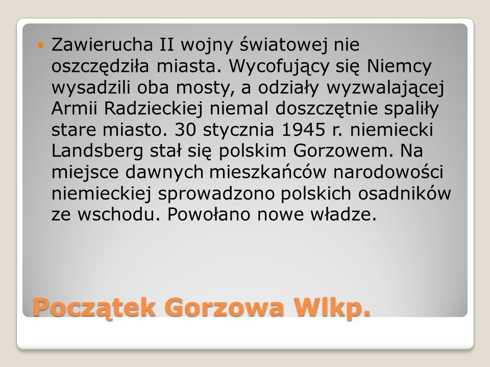 Atrakcje Gorzowa 2 GORZOWSKIE SPOTKANIA TEATRALNE Co roku w listopadzie w teatrze im.