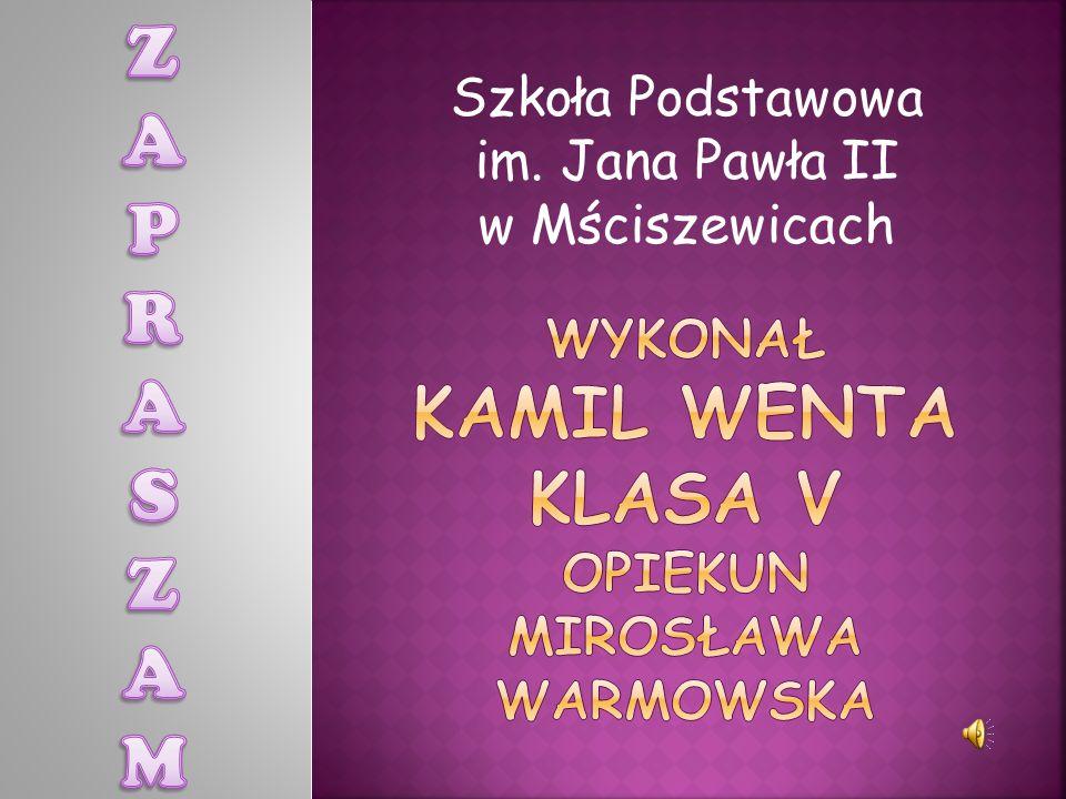 Szkoła Podstawowa im. Jana Pawła II w Mściszewicach
