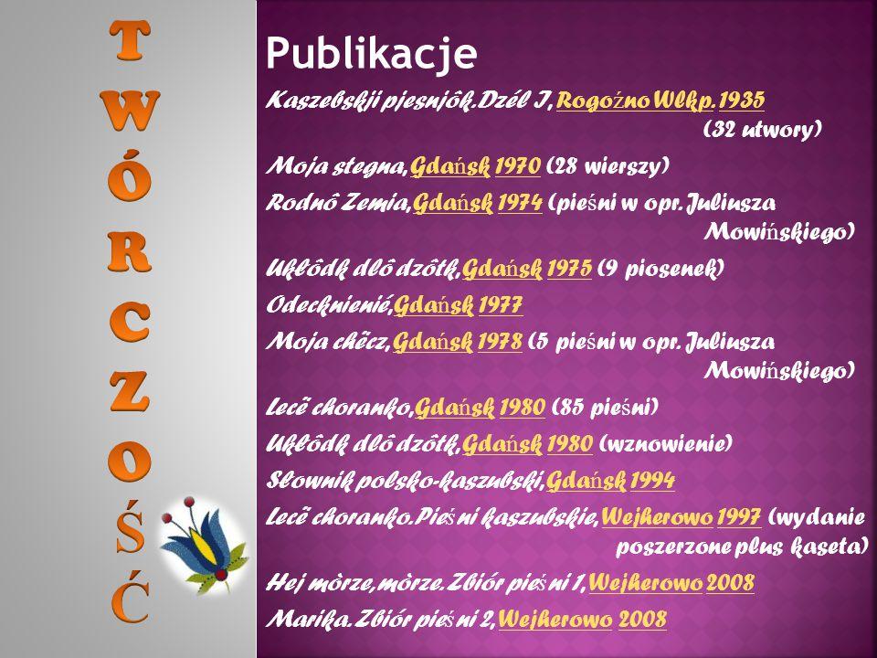 Publikacje Kaszebskji pjesnjôk. Dzél I, Rogo ź no Wlkp.