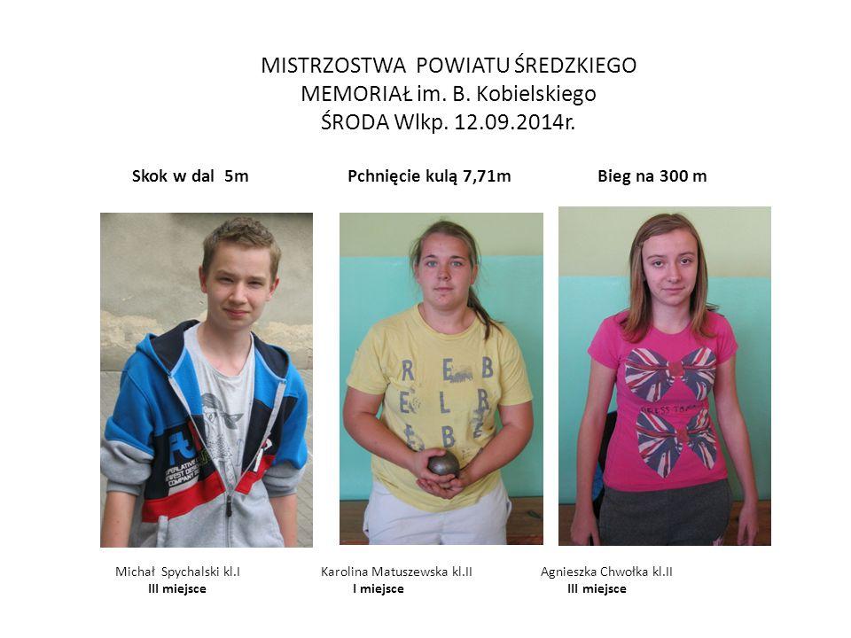Memoriał im.B.Kobielskiego (finał wojewódzki ) Żerków 2.10.14r.
