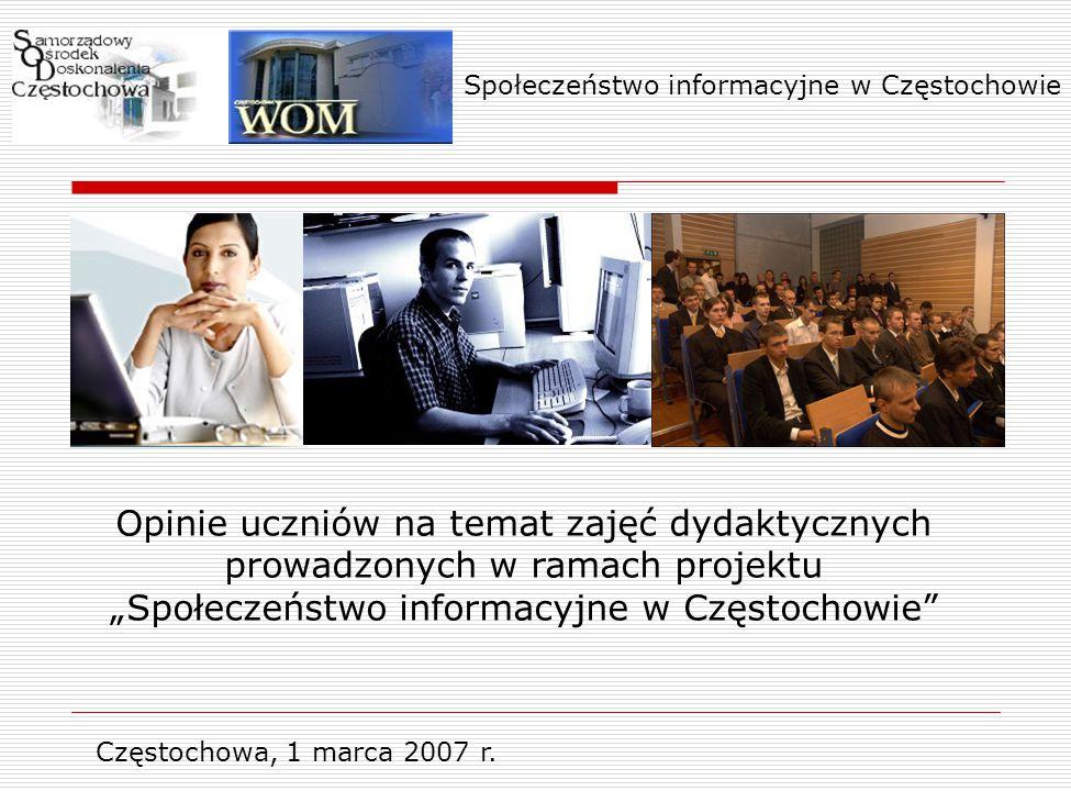 Częstochowa, 1 marca 2007 r.