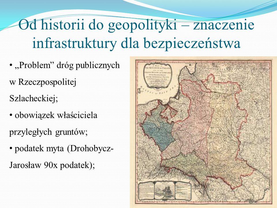 """Od historii do geopolityki – znaczenie infrastruktury dla bezpieczeństwa """"Problem"""" dróg publicznych w Rzeczpospolitej Szlacheckiej; obowiązek właścici"""
