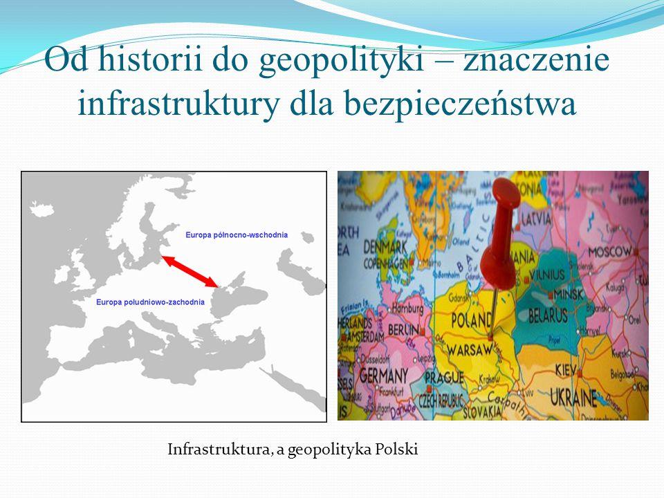 Od historii do geopolityki – znaczenie infrastruktury dla bezpieczeństwa Infrastruktura, a geopolityka Polski