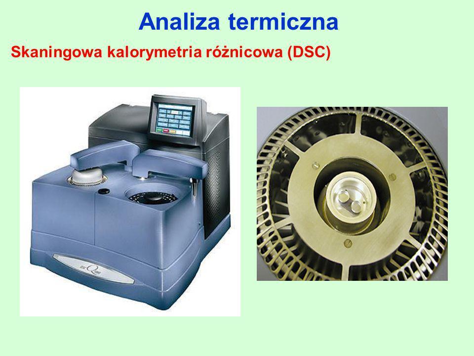 Analiza termiczna Skaningowa kalorymetria różnicowa (DSC)